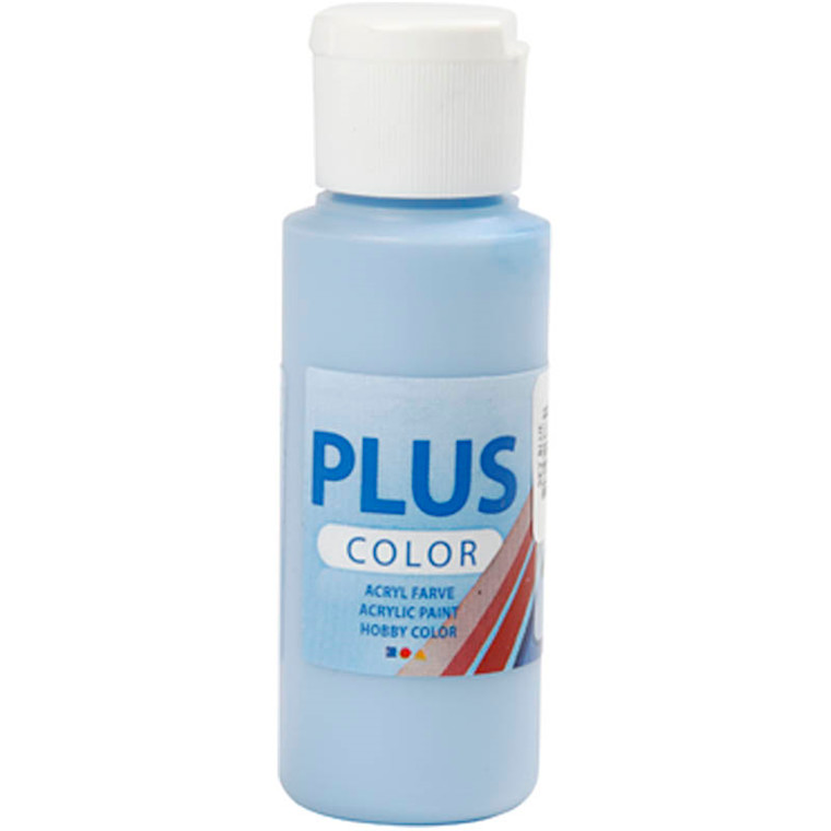 Plus Color hobbymaling, sky blue, 60ml