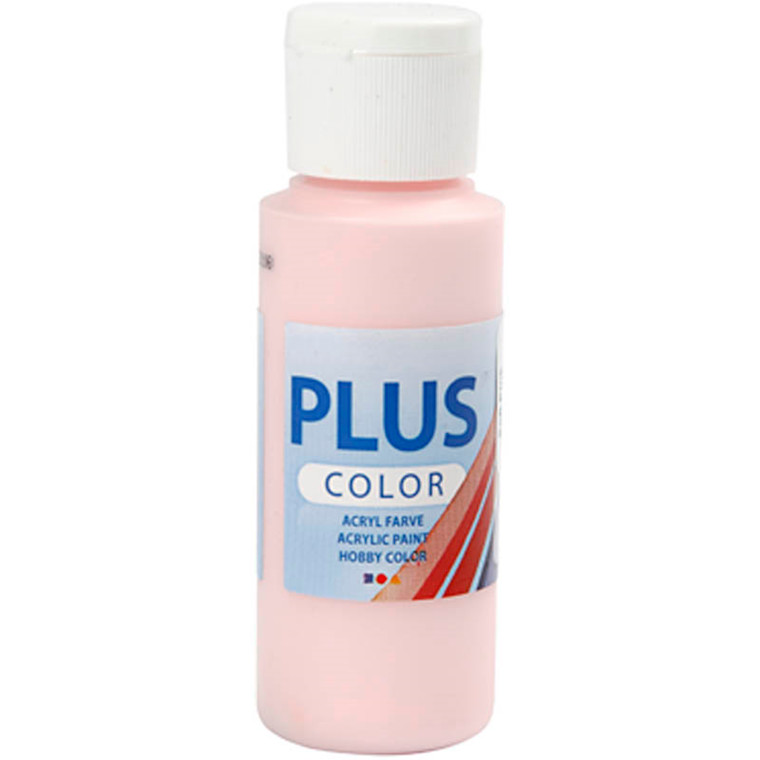 Plus Color hobbymaling soft pink - 60 ml