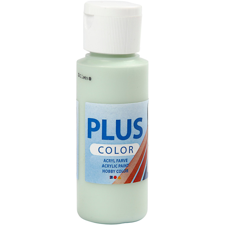 Plus Color hobbymaling, spring green, 60ml