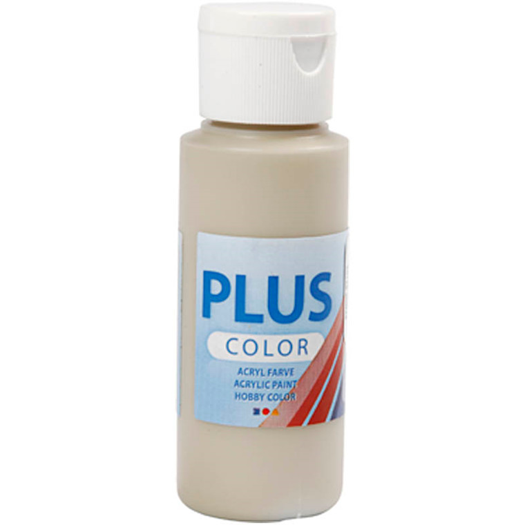 Plus Color hobbymaling stone beige - 60 ml