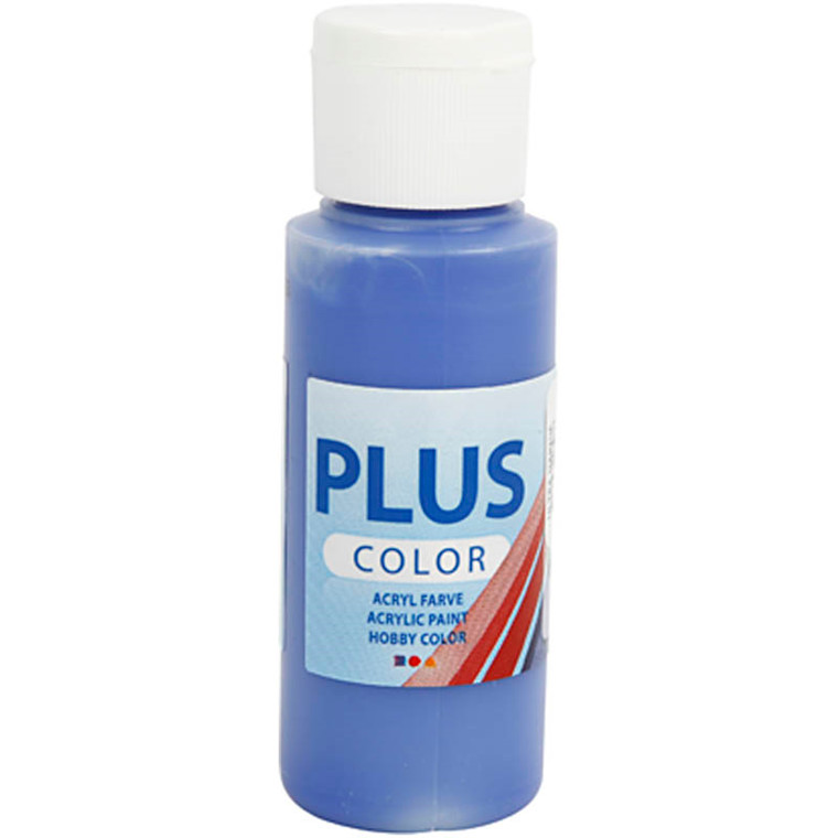 Plus Color hobbymaling, ultra marine, 60ml