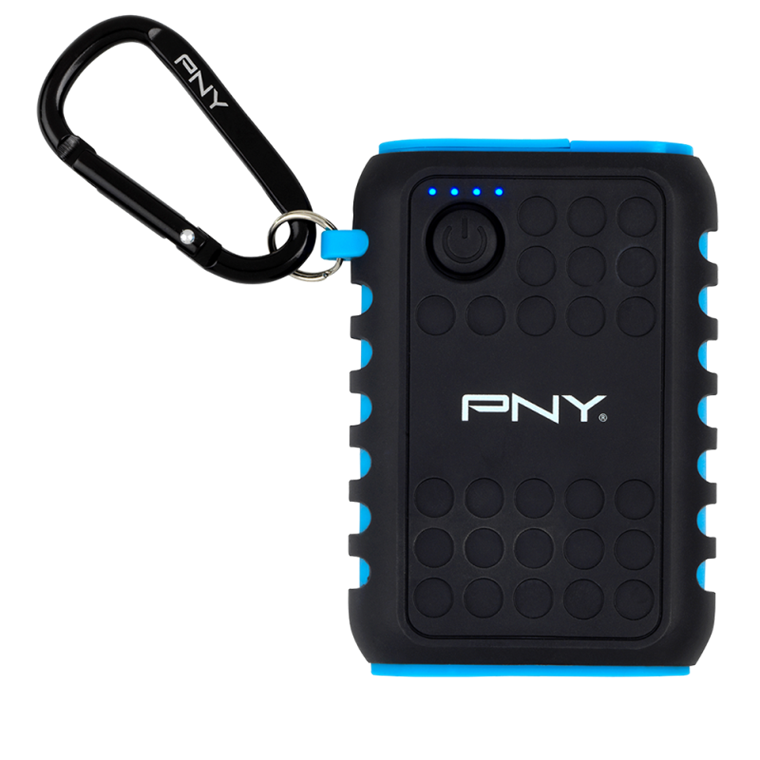 PNY PowerPack Outdoor Charger 7800 - Udendørs Powerbank 7800 mAh