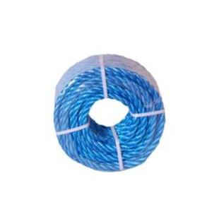 Polyreb i blå minirulle - 8 mm x 20 meter 3 slået