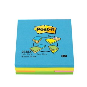 Post-it Multi Notes – Alt-i-en neonfarver