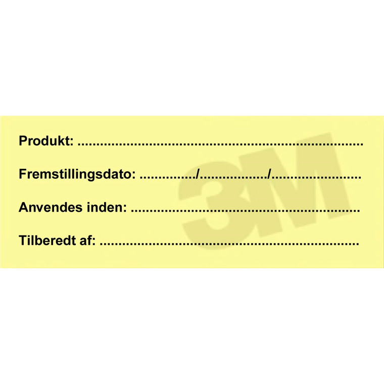 Post-it - Notes 3M Traceability 100 mm x 40 mm 50 ark - 6 blokke