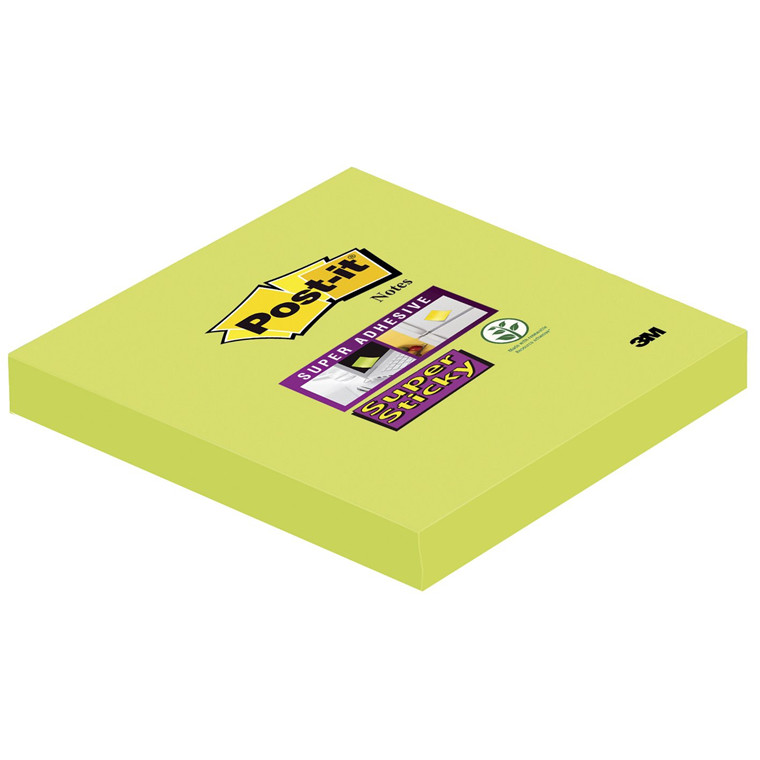 Post-it Super Sticky Notes - Asparges grøn