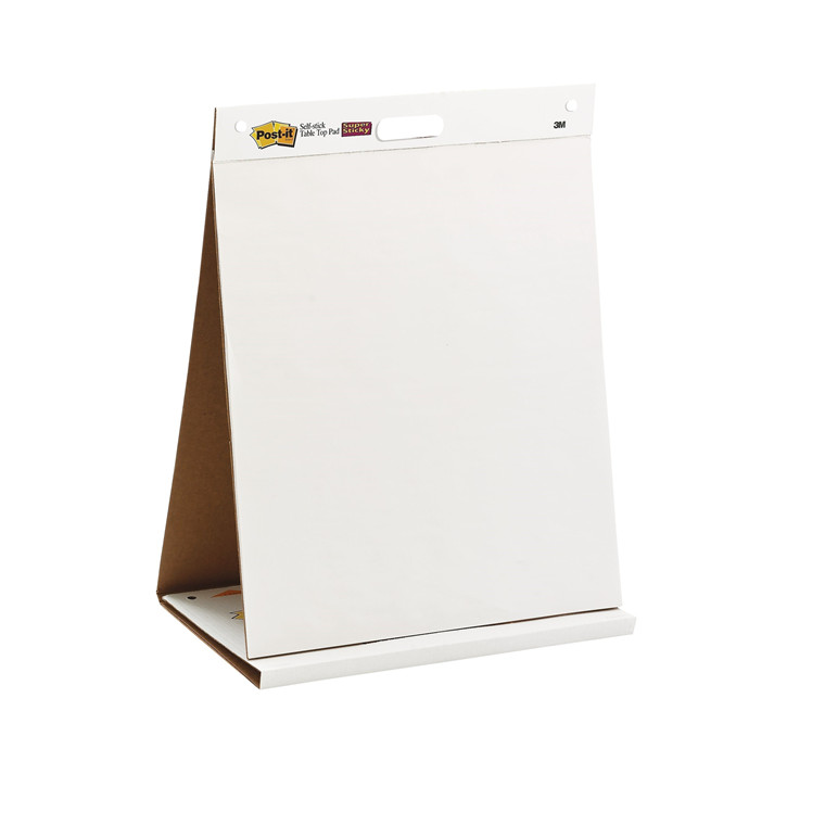 Post-it Table Top Easel Pad 58 x 50 mm - Bordflipover 20 ark