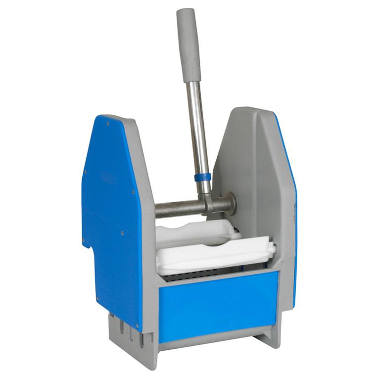 Presse, blå, til wetmop vogn, L23,50 cm x B21,50 cm x H36 cm,