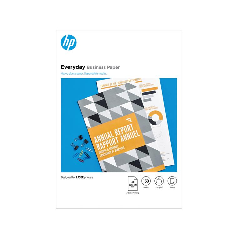 Printerpapir HP A3 Laser Everyday Business paper 120g (150)