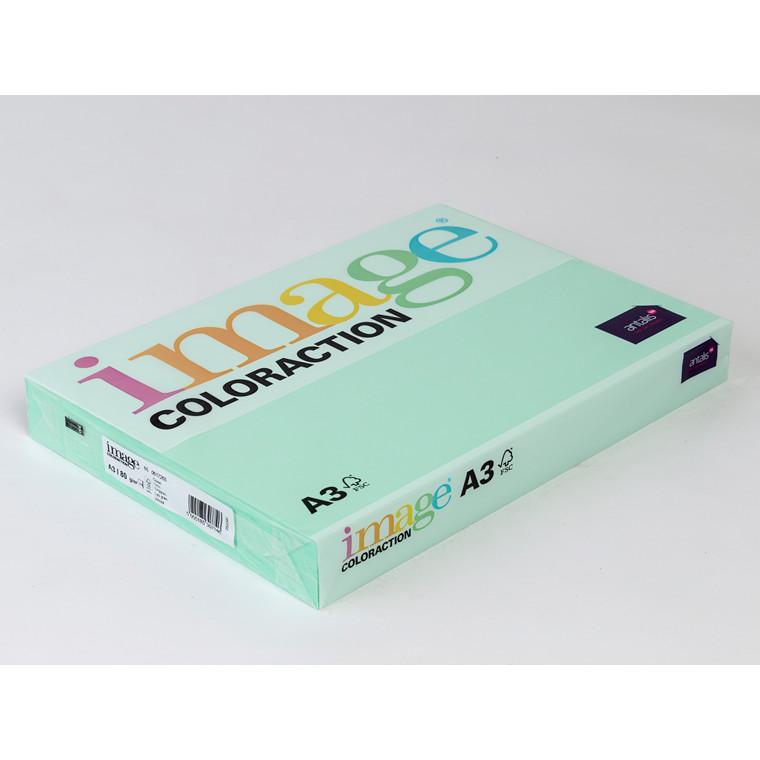 Printerpapir - Image Coloraction A3 80 gram - Enggrøn 65 - 500 ark