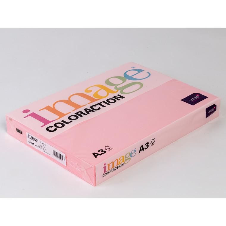 Printerpapir - Image Coloraction A3 80 gram - Lys rosa 25 - 500 ark