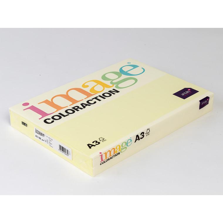 Printerpapir - Image Coloraction A3 80 gram - majsgul 55 - 500 ark