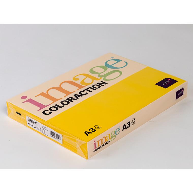Printerpapir - Image Coloraction A3 80 gram - Rapsgul 56 - 500 ark