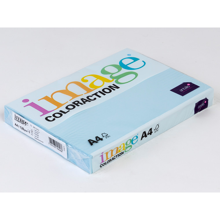 Printerpapir - Image Coloraction A4 120 gram - azurblå 72 - 250 ark