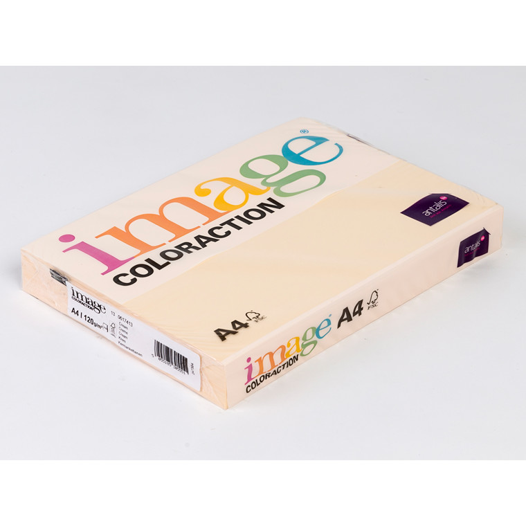 Printerpapir - Image Coloraction A4 120 gram - cream 13 - 250 ark