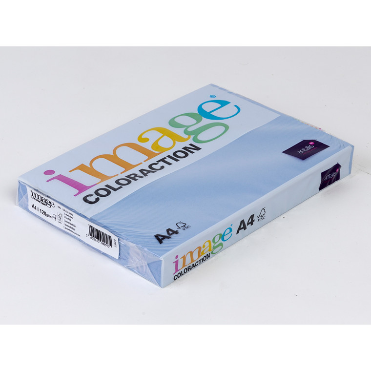 Printerpapir - Image Coloraction A4 120 gram - lavendelblå 88 - 250 ark