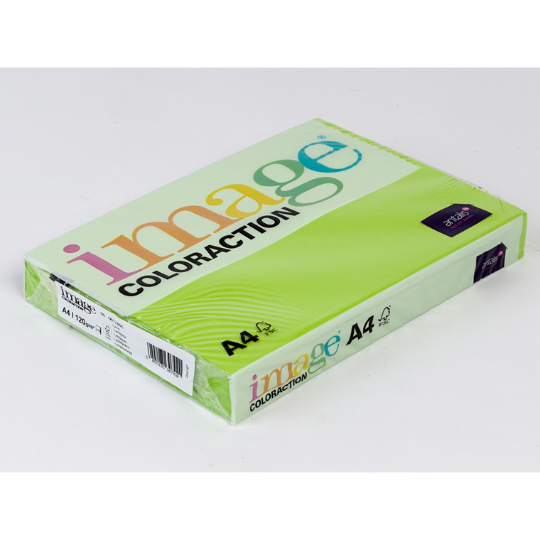 Printerpapir - Image Coloraction A4 120 gram - limegrøn 66 - 250 ark