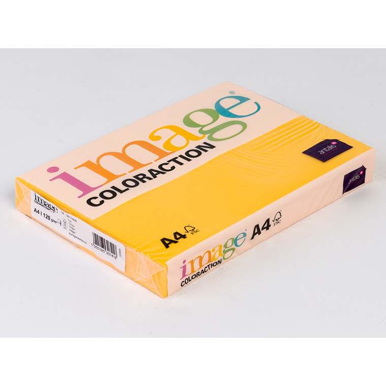 Printerpapir - Image Coloraction A4 120 gram - solgul 58 - 250 ark