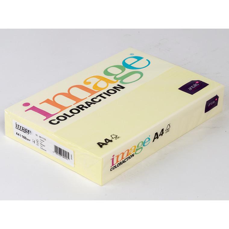 Printerpapir - Image Coloraction A4 160 gram - majsgul 55 - 250 ark