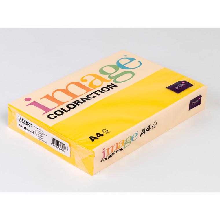 Printerpapir - Image Coloraction A4 160 gram - rapsgul 56 - 250 ark