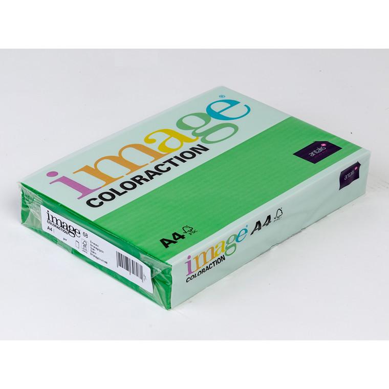 Printerpapir - Image Coloraction A4 80 gram - Grøn 68 - 500 ark