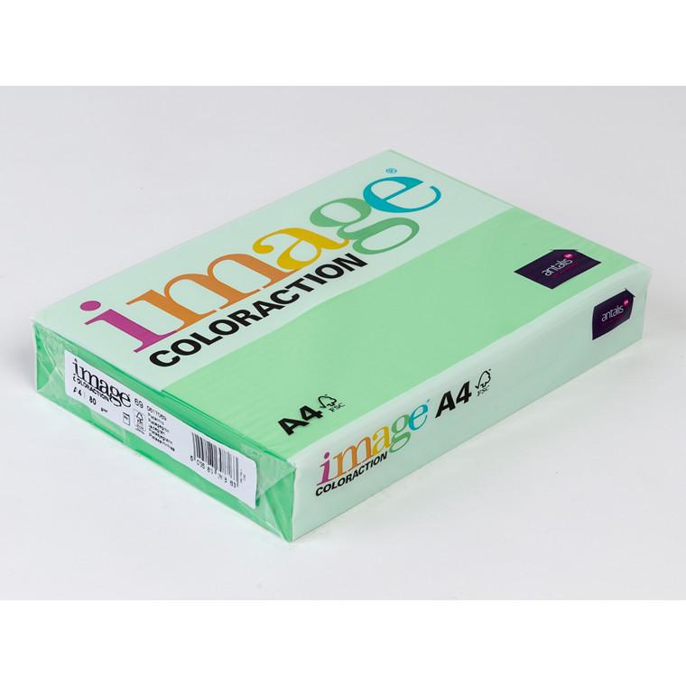 Printerpapir - Image Coloraction A4 80 gram - Jadegrøn 69 - 500 ark