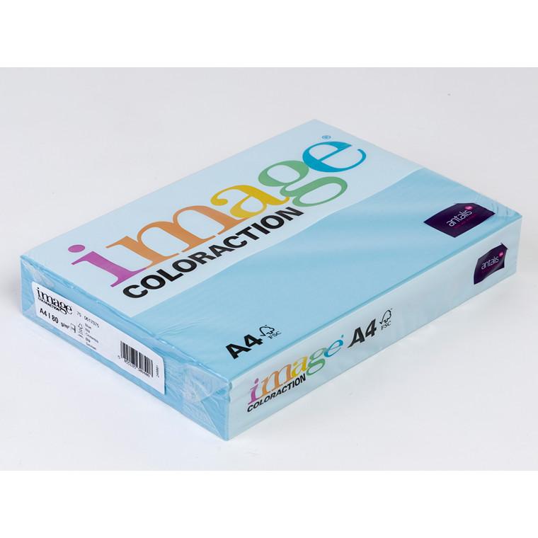 Printerpapir - Image Coloraction A4 80 gram - oceanblå 75 - 500 ark