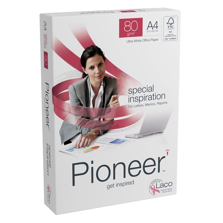 Printerpapir - Pioneer 80 gram A4 - 500 ark