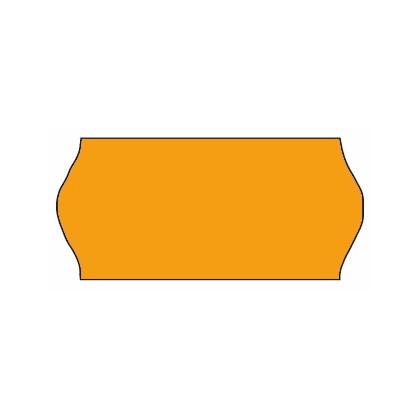 Prismærker - Meto orange med lim 1.1 26 x 12 mm - 1500 stk