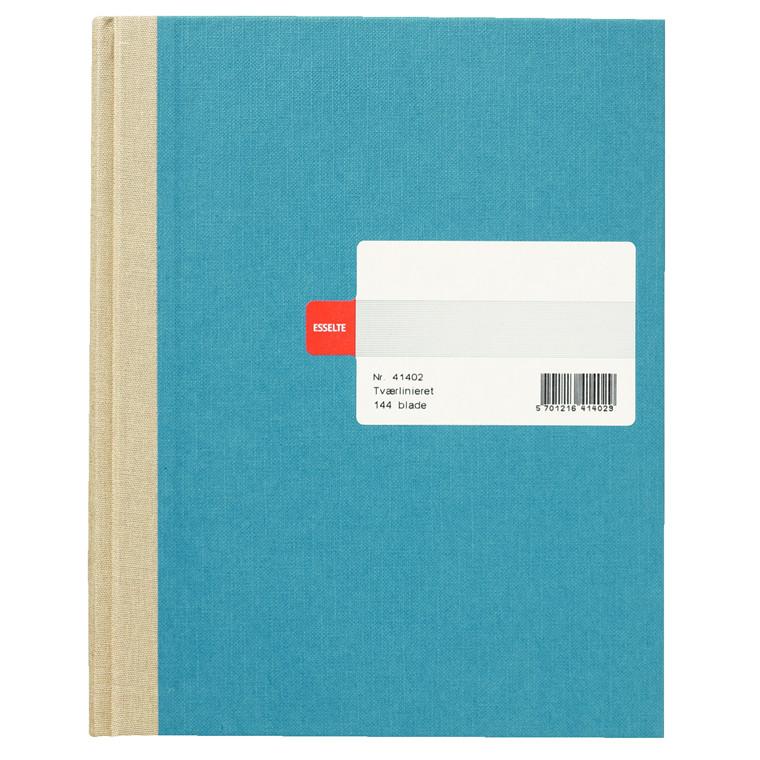 Protokolbog - Esselte linieret assorteret farver 144 sider 41402