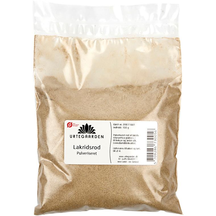 Pulveriseret lakridsrod ØKO | 100 gram
