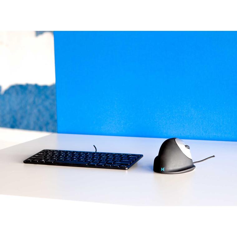 R-Go Basic Ergonomic Keyboard Mouse Combo (Nordic)