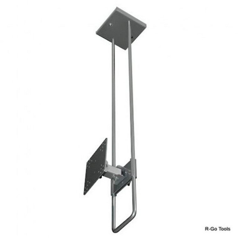 R-Go Top Down Loftsbeslag - Justerbar sølvfarvet