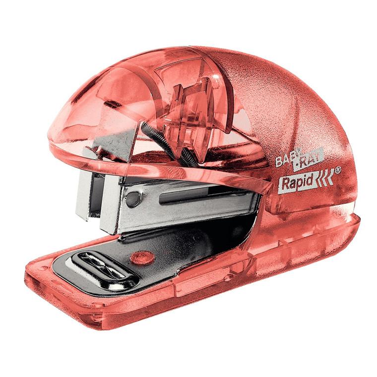 Rapid Hæftemaskine Colour'Ice t/10ark+klammer abrikos