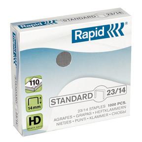 Rapid staples Standard 23/14 Box of 1000