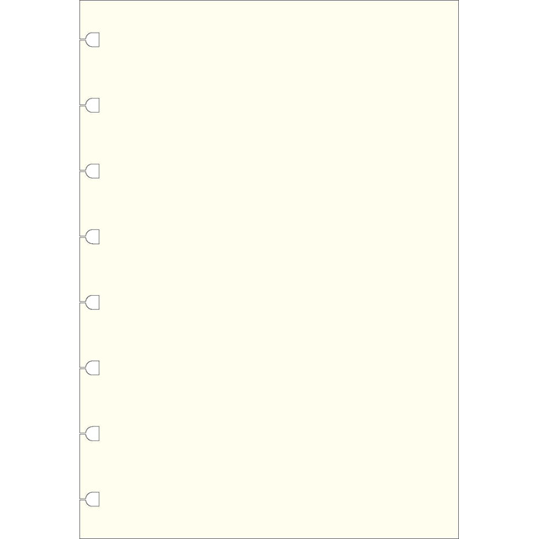 Refill Filofax Notebook A5 ulinieret 100g 32bl/pak
