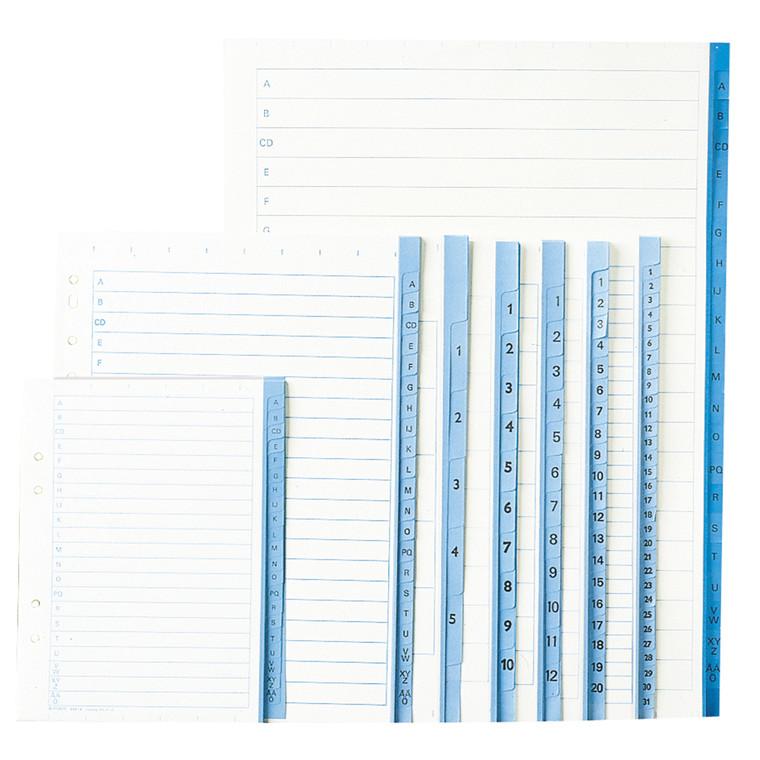 Register papir Office DEPOT A4  A-Ö 90g