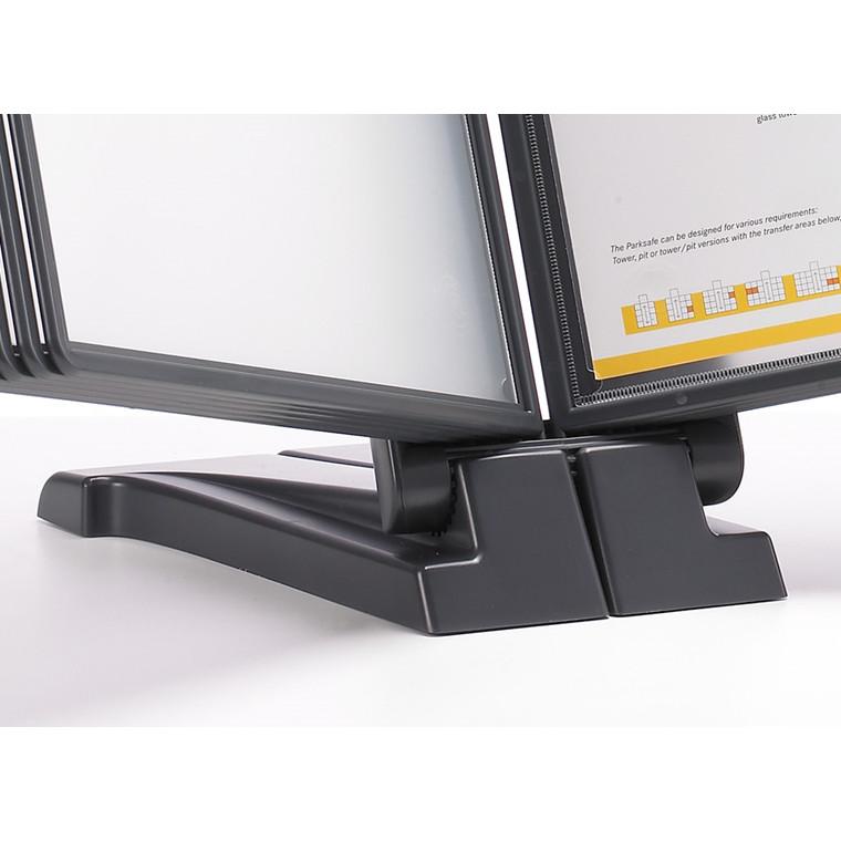Registersystem A4 QuickFind gr.modul antracit t/10 lommer