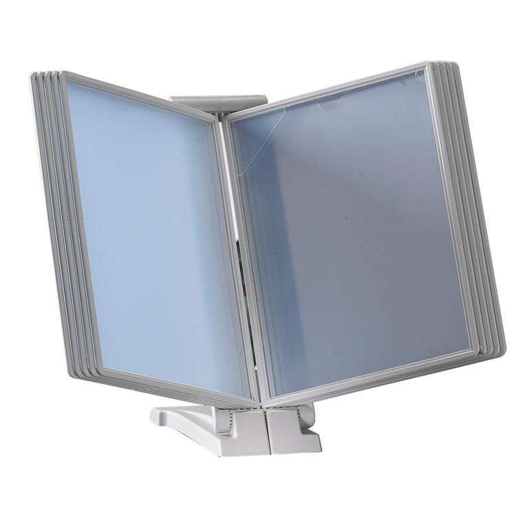 Registersystem A4 QuickFind gr.modul lys grå t/10 lommer
