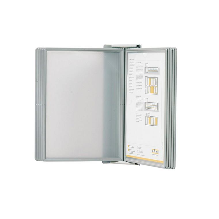 Registersystem HD A5 vægmodel til 10 lommer SuperioR grå