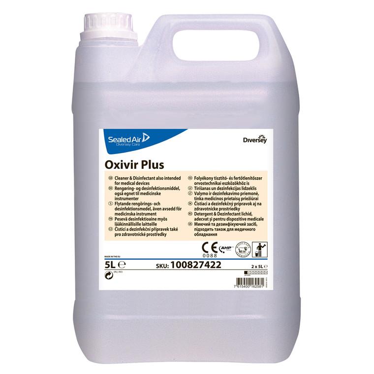 Rengøring & desinfektionsmiddel Oxivir plus 2x5l/kar