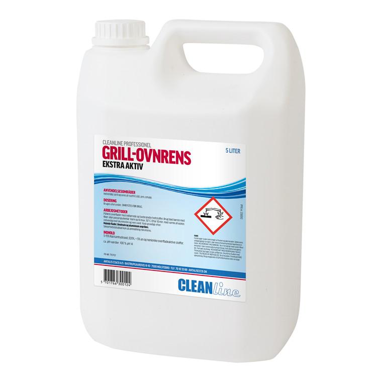 Cleanline Grill-Ovnrens Ekstra Aktiv - 5 liter