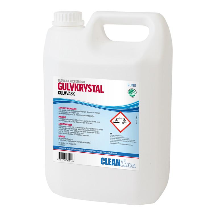Cleanline Gulvkrystal gulvvask - 5 liter