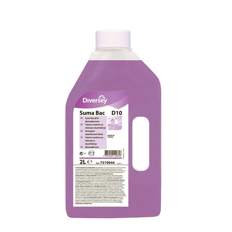 Rengøring Suma Bac D10 2,0l desinfektion
