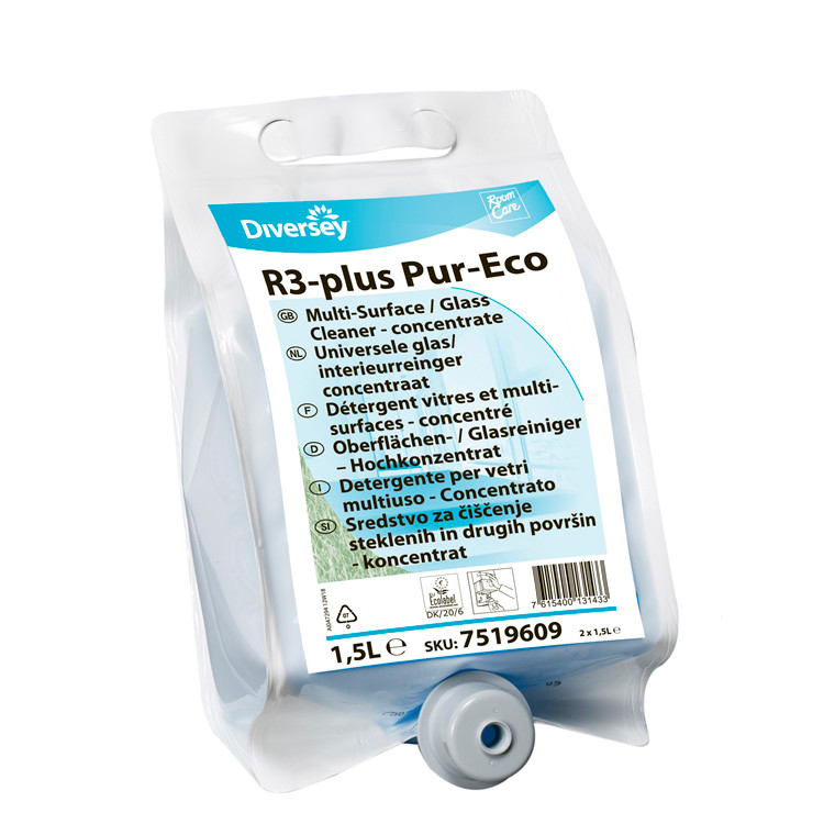 Rengøringsmiddel Room care plus Pur-Eco 1,5L W2