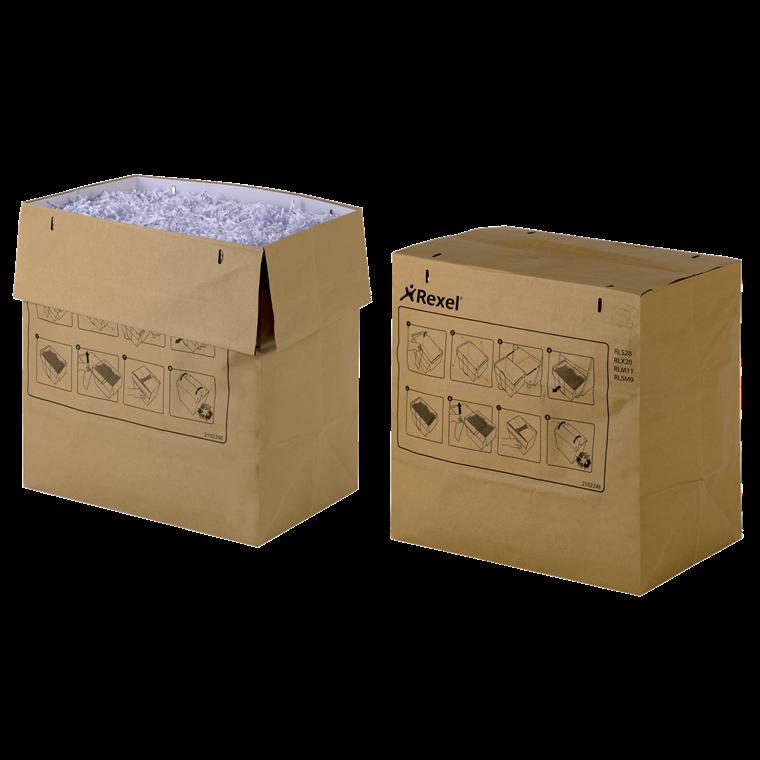 Rexel makulator genbrugsaffaldsposer - RC Mercury 115 liter - 50 stk