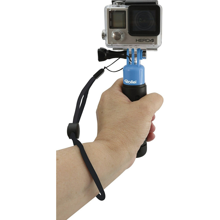 Rollei Actioncam Hand Grip Floaty blue