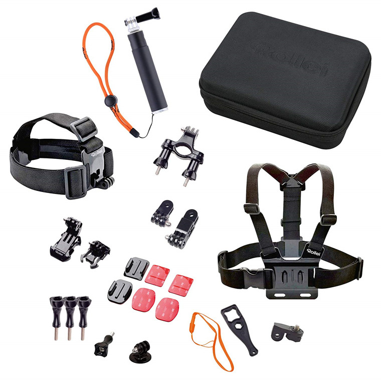 Rollei Actioncam Mount Set Outdoor