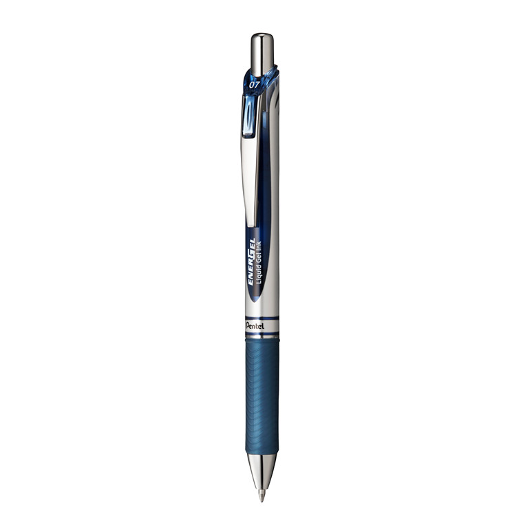 Pentel Energel Rollerpen blåsort 0,7mm BL77