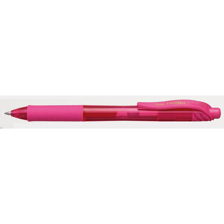 Pentel EnerGel -X BL107 - Pink rollerpen 0,7 mm